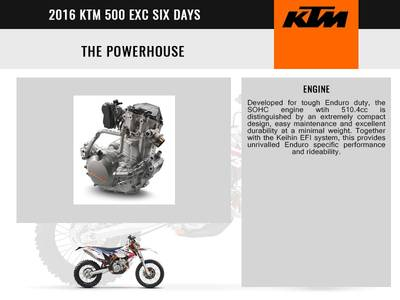 2016 KTM 500 EXC Six Days Base | RideNow Chandler / Euro | Chandler, AZ